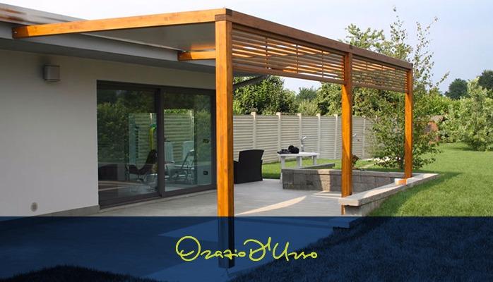 Blog immobiliare costruire un pergolato nel nostro terrazzo o giardino i permessi - Costruire un giardino ...